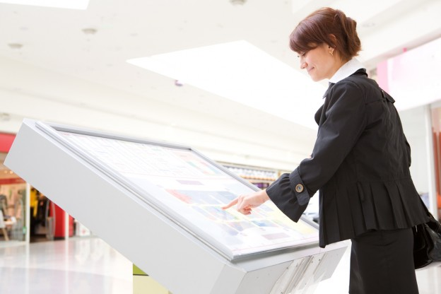 Touch screen kiosk system from Soundsmith